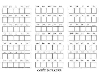 80 best CAC * Copic * Marker Colors images on Pinterest