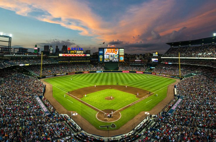 25 best ideas about turner field on pinterest new for Dallas cowboys stadium wall mural