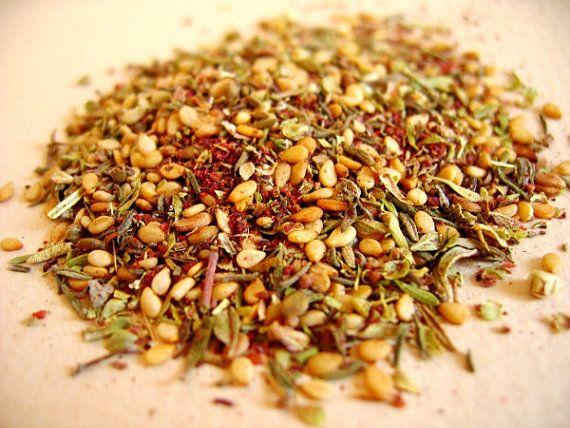 Zatar Zaatar Lebanese spice blend handmade with pure by Armenos