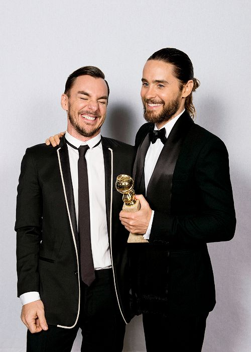 Shannon and Jared Leto at The Golden Globes