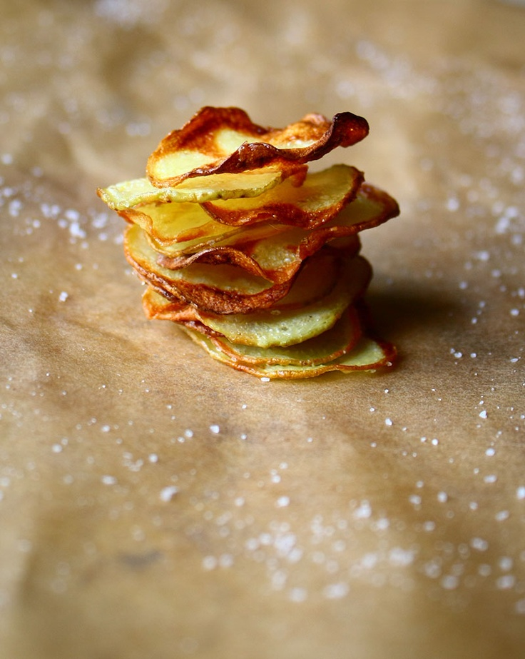 chips di patate al forno