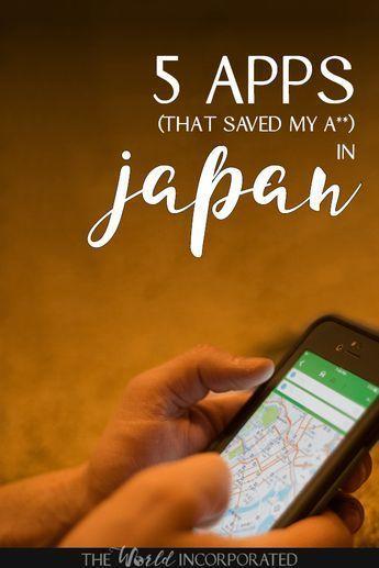 Apps, die mein A ** in Japan gespeichert haben – Laden Sie diese Japan-Reise-Apps herunter