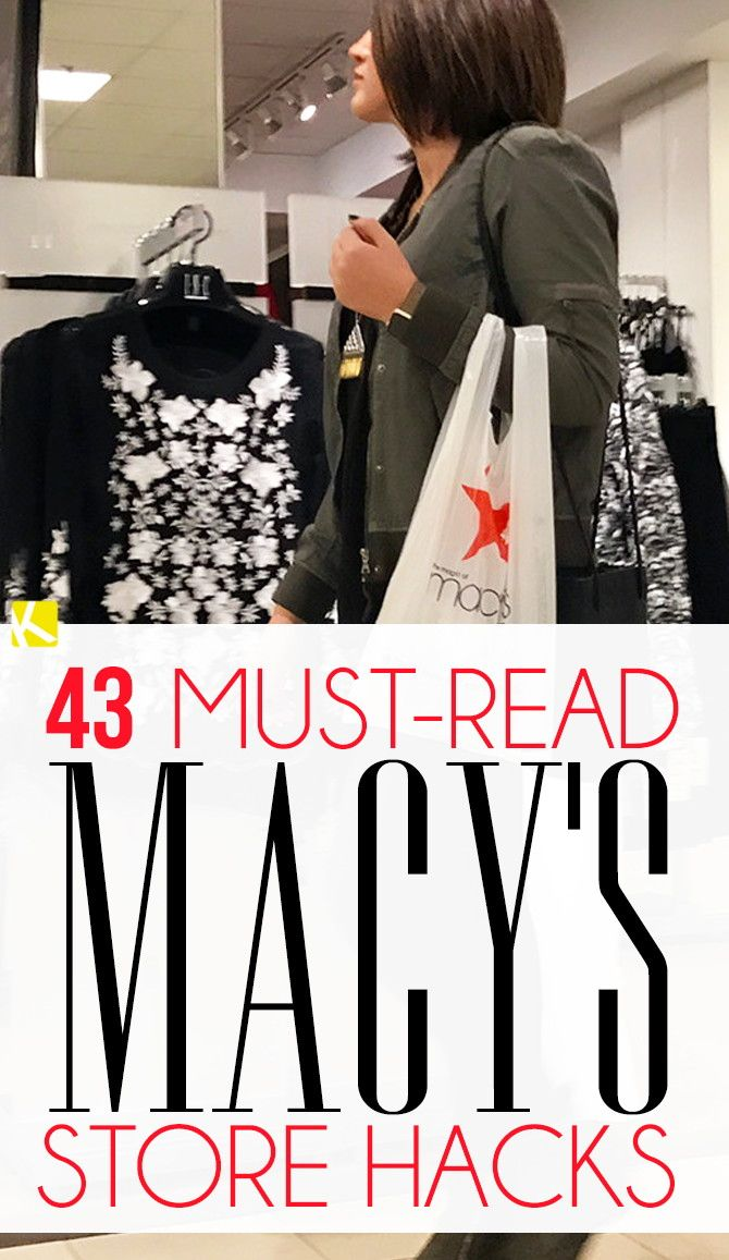 Guys, I've recently become obsessed. I've found some great ways to save at Macy's and I wanna show you. 1. Macy's stores will price match Macys.com and...
