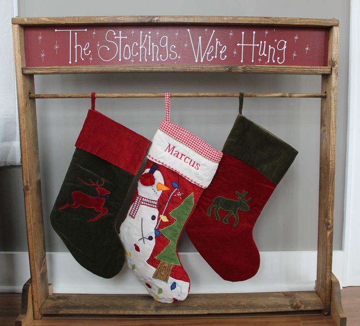Best 20 stocking holder stand ideas on pinterest for Best stocking holders