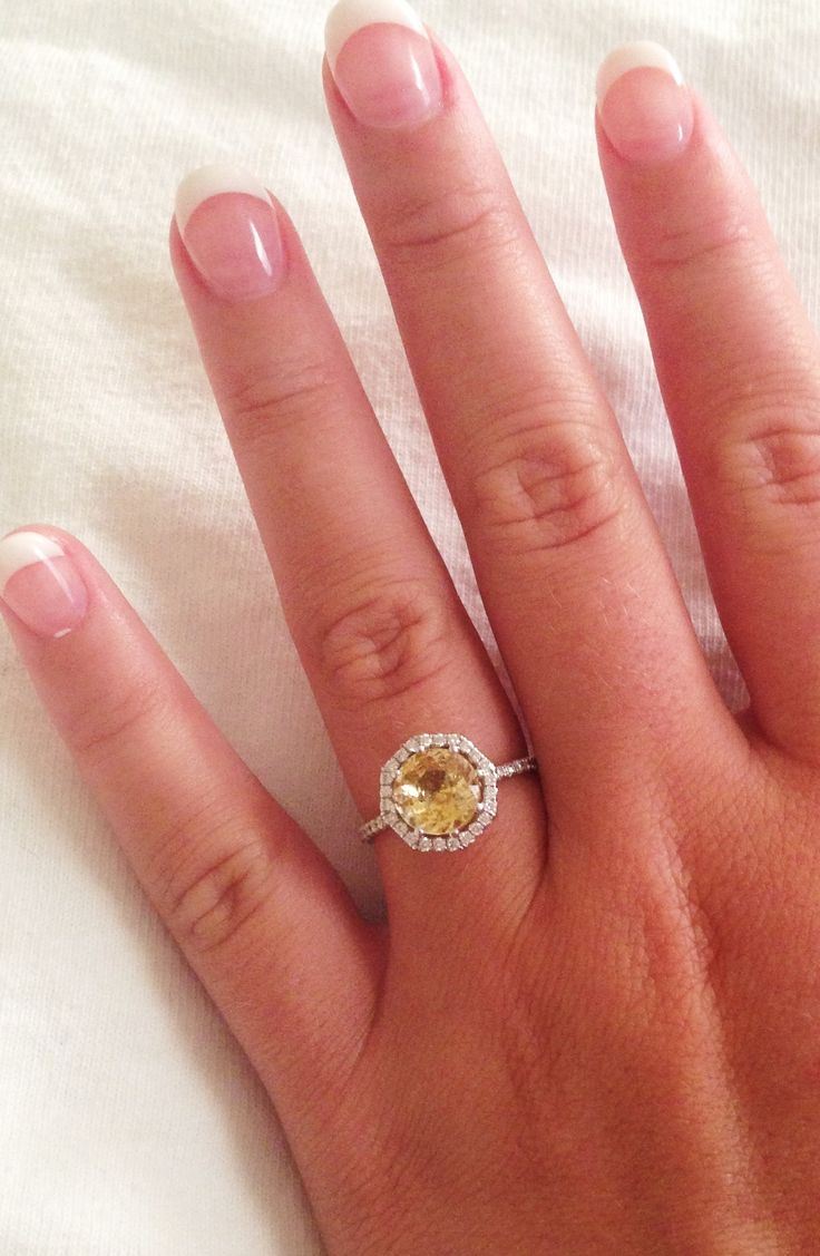My Engagement Ring I'm So Proud Of It!! Yellow