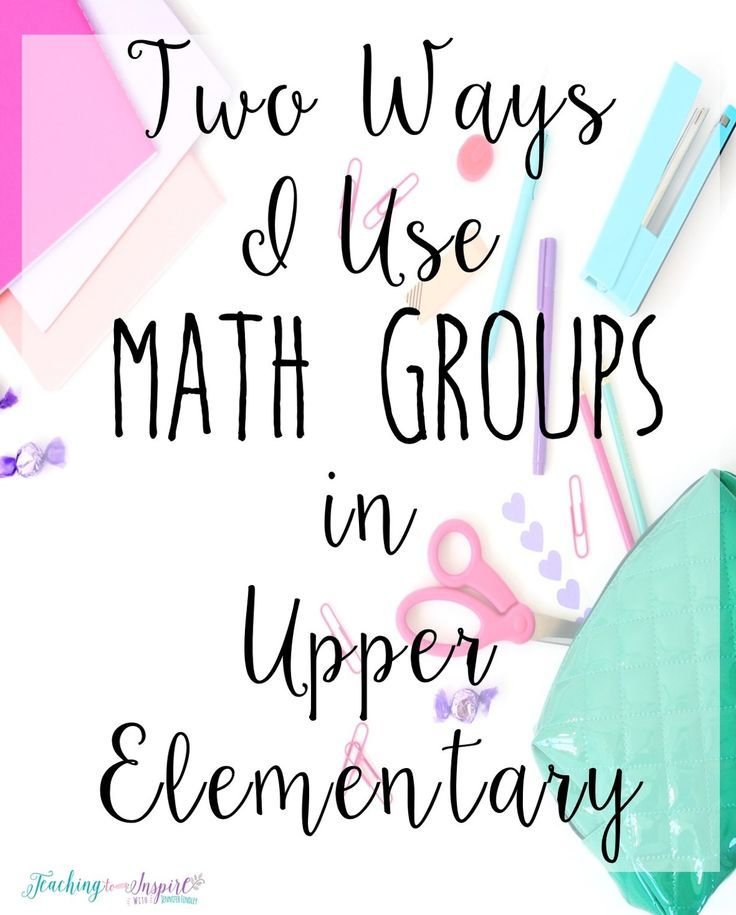 Read about how one teacher uses math groups for instruction in two different ways in her upper elementary classroom.