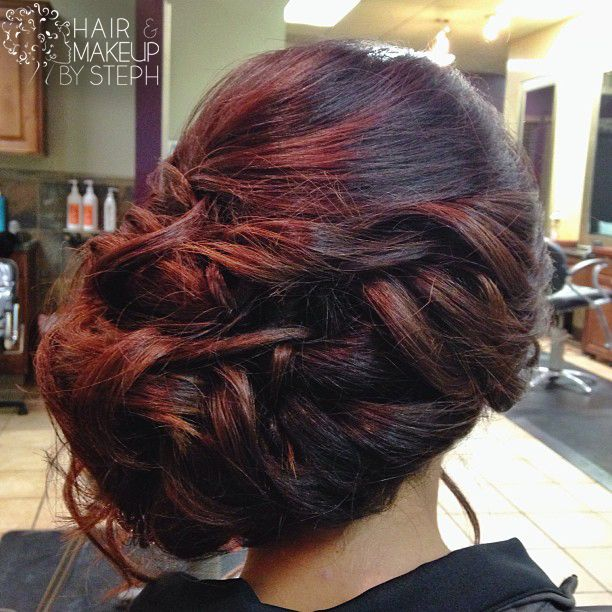 how make a hair style 93 best images about hair styles side updos on 3678 | 2b2222154fdcb9ee3678bd5c0987741b wedding fun wedding updo