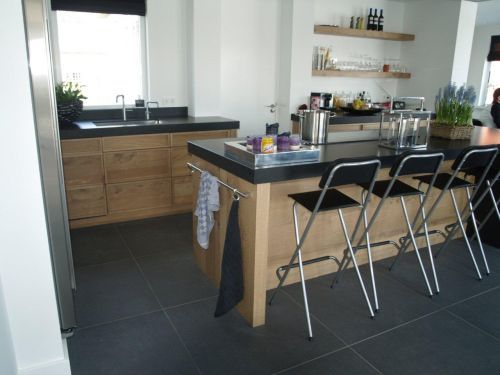 Vri interieur landelijke keuken modern fijn bezaagd eiken for Interieur keuken ideeen