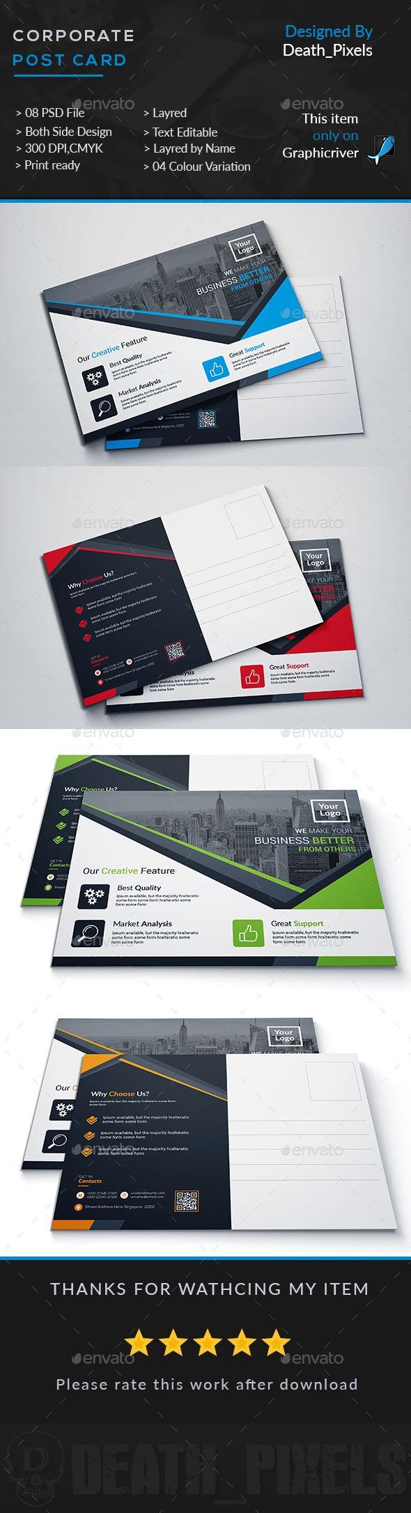 10 best Direct Mail Layouts images on Pinterest | Postcard design ...