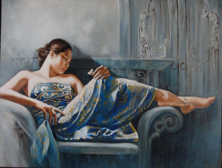 Blue Lotus | Josephine Linggar