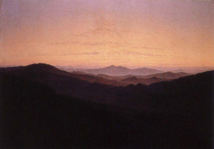 Caspar David Friedrich - Riesengebirge