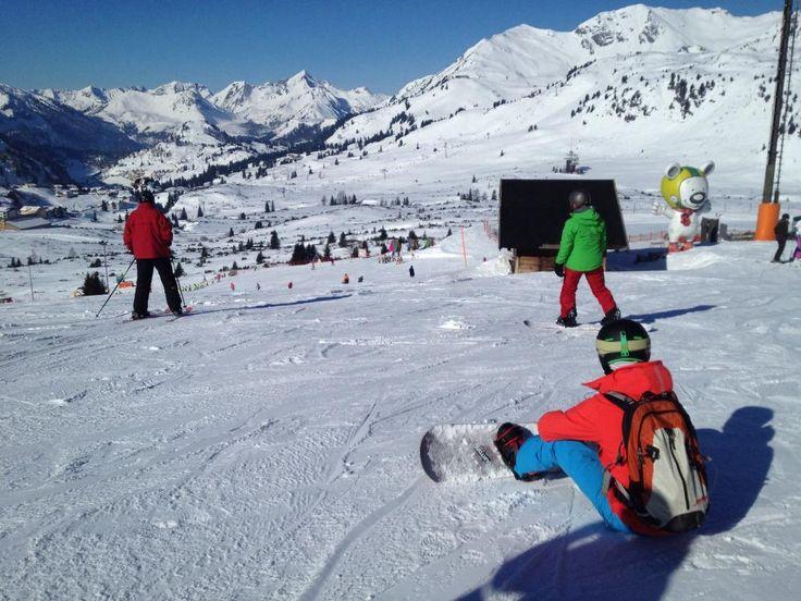 **Obertauern Ski Resort (popular ski resort) - Obertauern, Austria