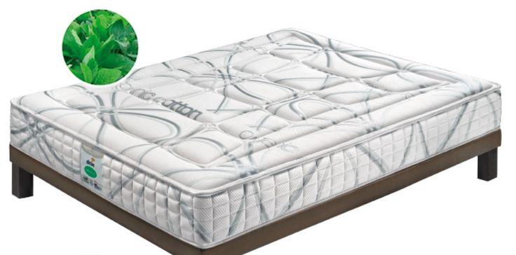 Duerme en una cama de viscoelástico látex por poco dinero.