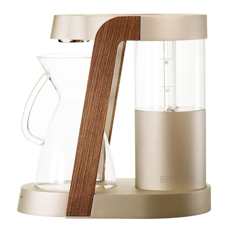 Ratio Eight Edition Coffee Machine in Champagne from Clive Coffee