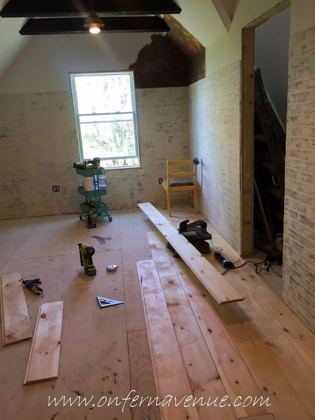 How To Lay Shiplap Floors Hometalk Diy Diy Wood