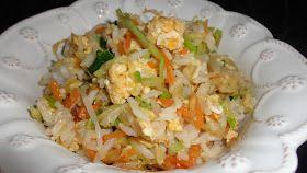 Refeições leves. Refeições economicas. Arroz thai, legumes. Comida vegetariana. Dicas da Anabela Salema. Ideias cá de casa.