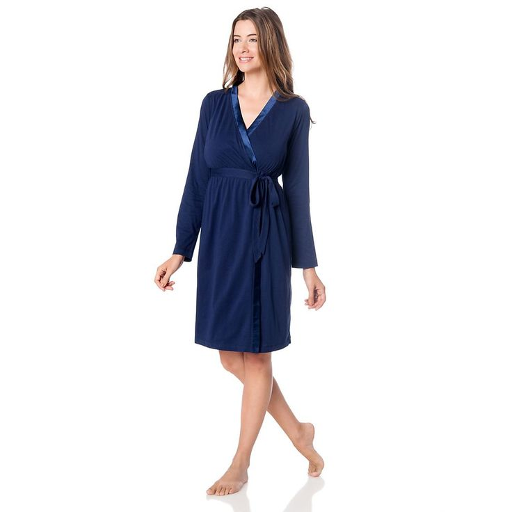 Maternity Oh Baby by Motherhood™ Nursing Gown & Robe Set