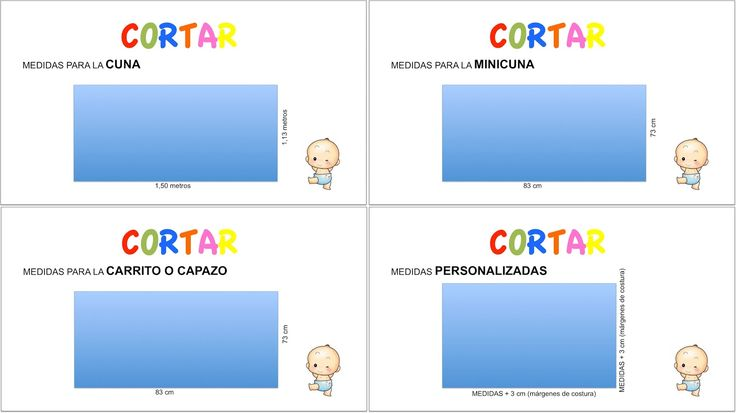 DIY Canastilla bebe: Tutorial de mantas para cuna, minicuna y capazo :D