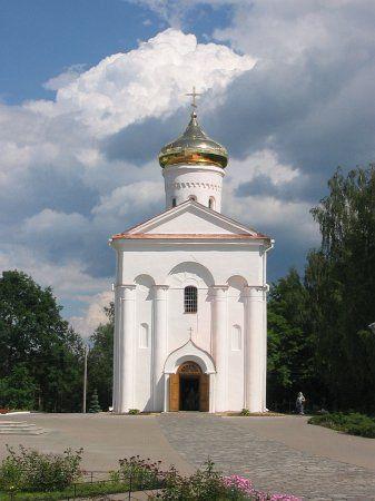 Спасо-Преображенский собор в Полоцке.