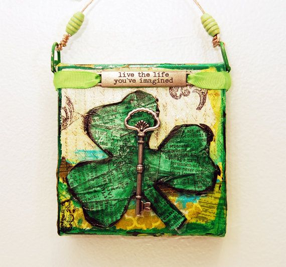 88 best st. patrick's day crafts and home decor images on