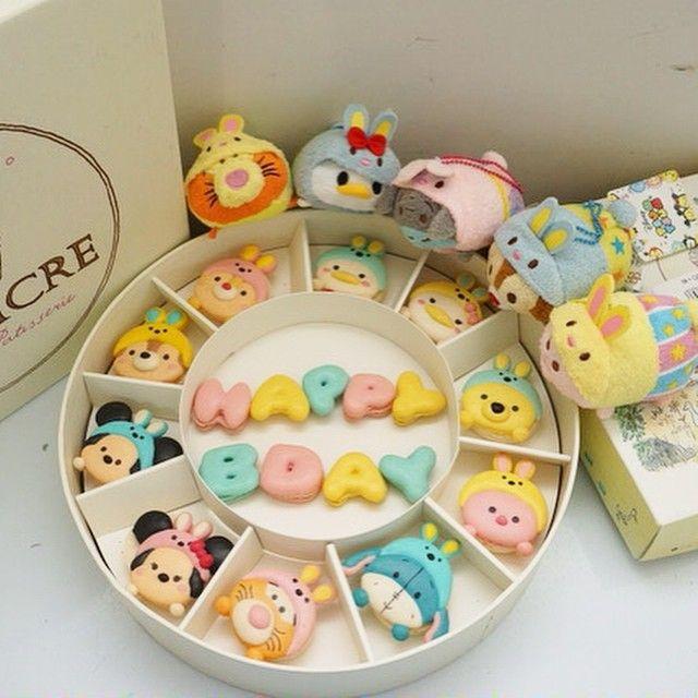 Preorder disneytsumtsumbunny #macaron #macarons #macaroon #macaroons #love #cute #instacute #instafood #instagood #disney #disneytsumtum #tsumtsumbunny
