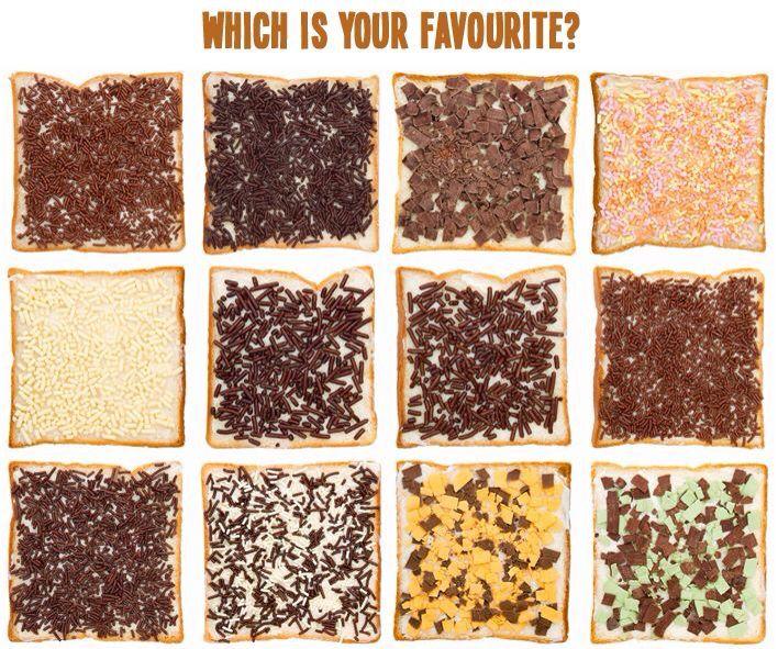Broodbeleg van chocola