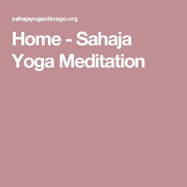 Home - Sahaja Yoga Meditation