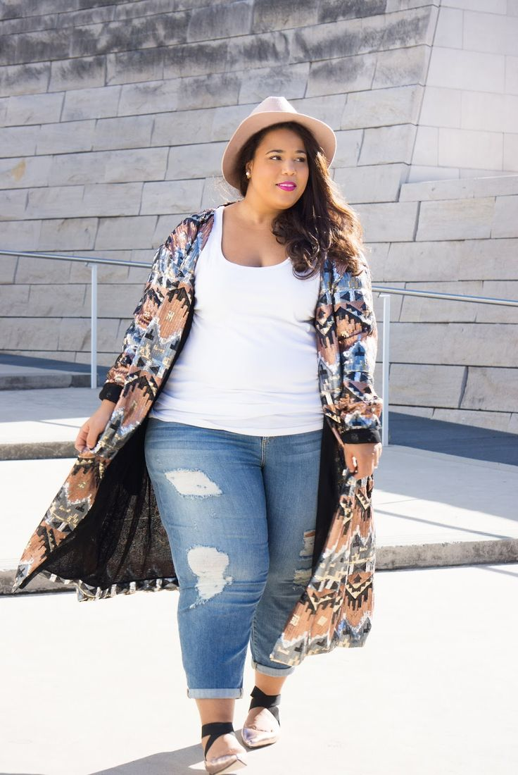 GarnerStyle   The Curvy Girl Guide: Relaxed Sparkle
