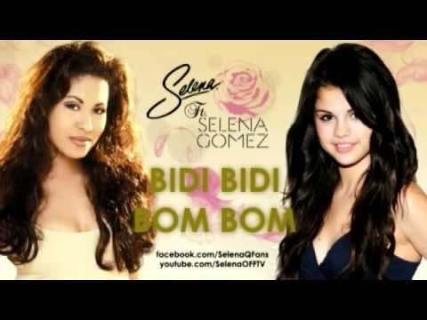 Selena Quintanilla Ft. Selena Gomez - Bidi Bidi Bom Bom - Enamorada de t...