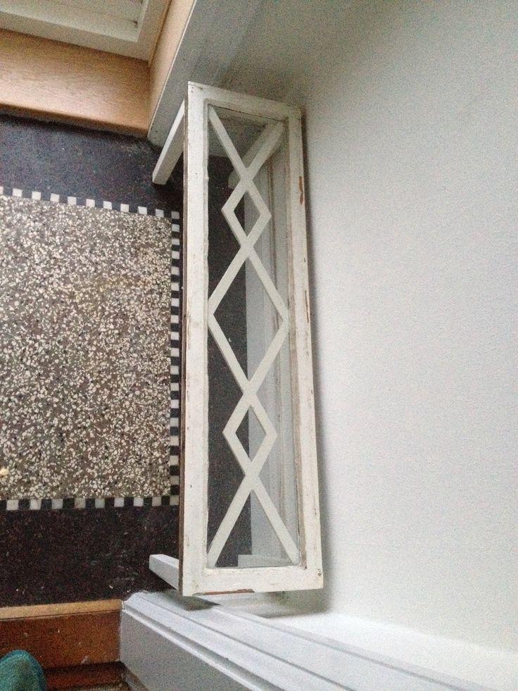Gammelt vindue - nyt bord :)
