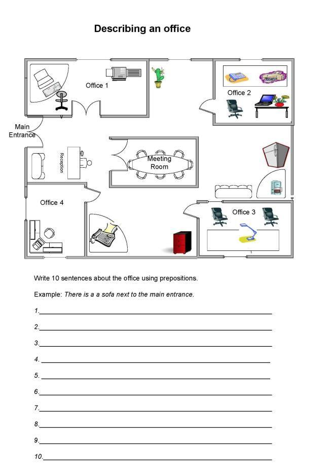 Más de 25 ideas increíbles sobre Prepositions worksheets en ...
