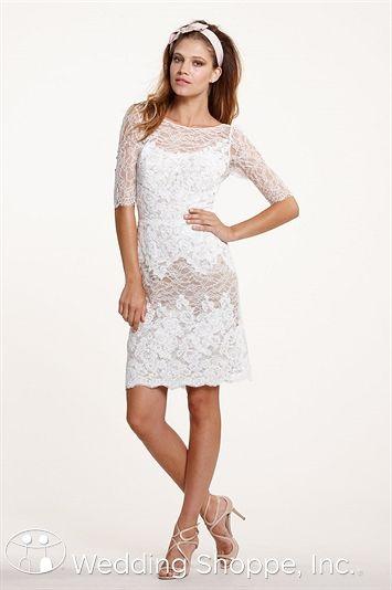 56 best short wedding dresses wedding shoppe images on pinterest sophisticated short sleeved lace wedding dress shortweddingdress junglespirit Choice Image