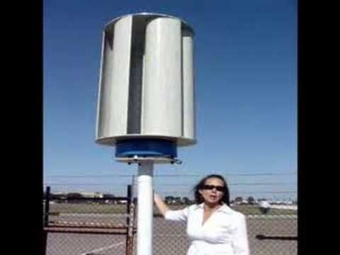 Homemade Wind Turbine Generator VAWT Vertical - YouTube