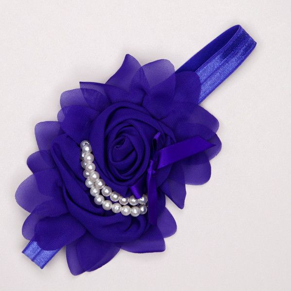 Kidz Outfitters 5.25 Inches Flower Headband by Kidz Outfitters - KidzOutfitters.com Item  C1200001 Purple