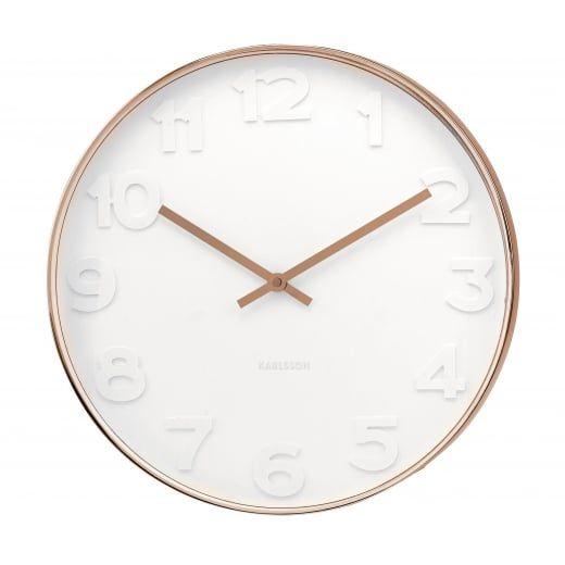 Best 25 Large White Wall Clock Ideas On Pinterest White