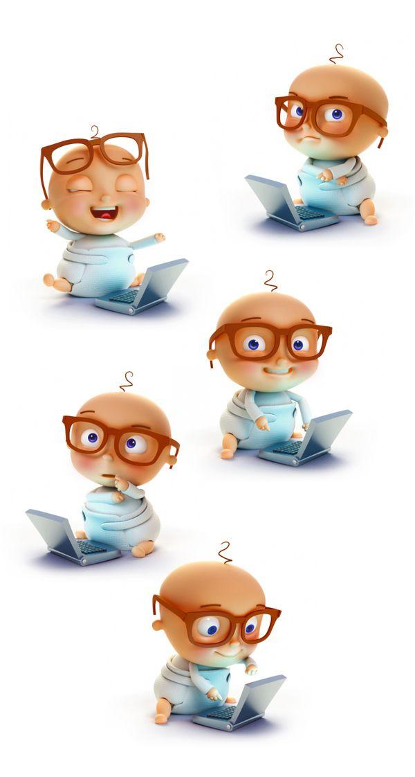 〆(⸅᷇˾ͨ⸅᷆ ˡ᷅ͮ˒)                                                            Baby Character Designs