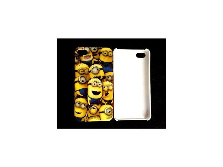Plastový kryt (obal) pre iPhone 4/4S - mimoni (Despicable me)