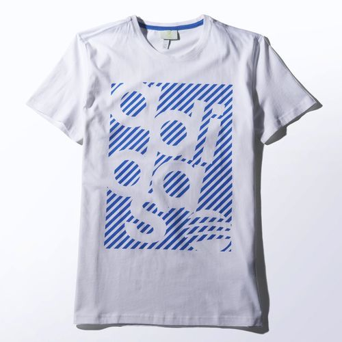 adidas - Camiseta Logo Graphic. Tee ShirtMixerGraphic TeesMen's T  ShirtsPrintedNovemberBrandingTeeBlenders