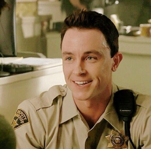 Deputy Parrish. So adorable when he smiles...