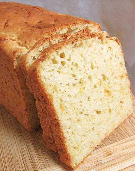 Tender, high-rising, GLUTEN-FREE sandwich bread – King Arthur Flour – plus cheese bread version #glutenfree