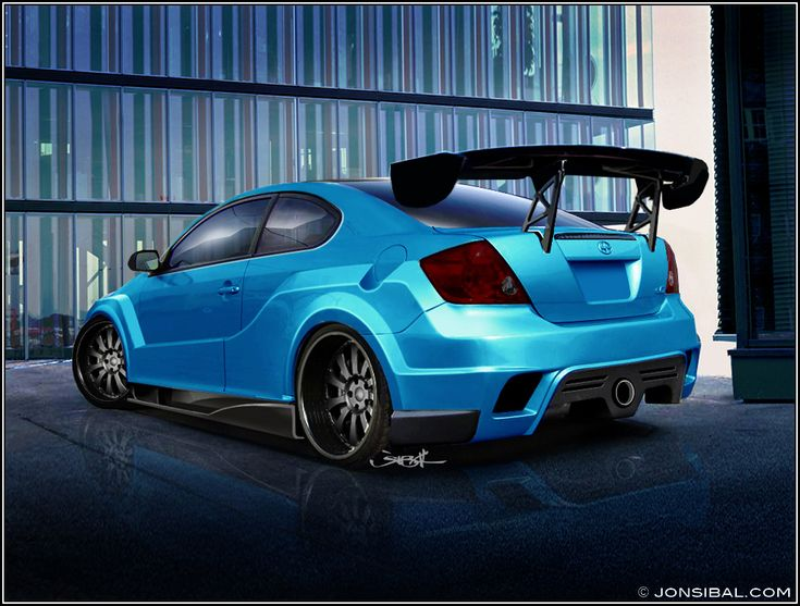 SCION tC Revault rear. Whatever THAT means!! I like the color but hate the spoiler!