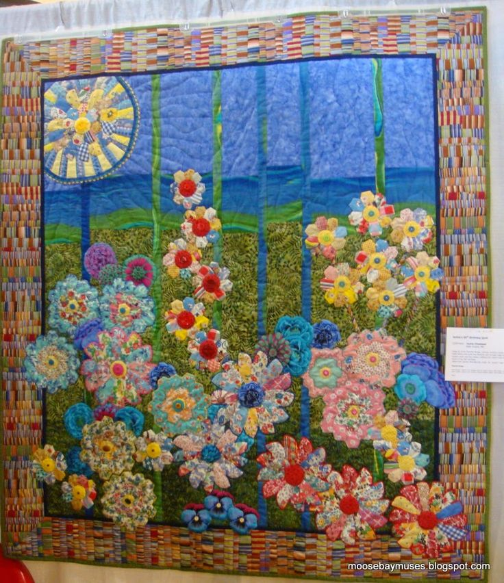Dresden Plates! Moose Bay Muses: Quilt Show Eye Candy!