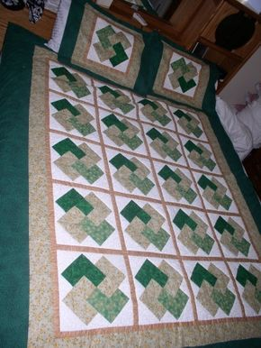 """I've been wanting to make a Card Trick quilt for years. I like the narrow sashing between these 12"""" blocks."""