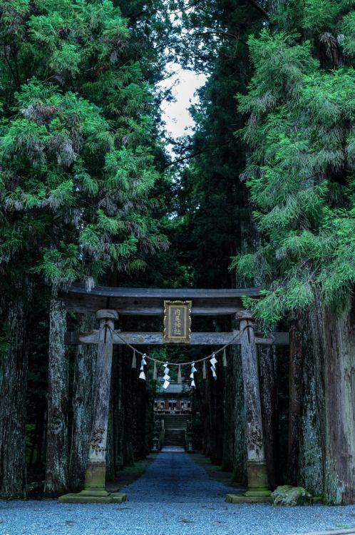 Hyogo Tamba ice Uchio shrine, Japan.  Photography by U3K-Y