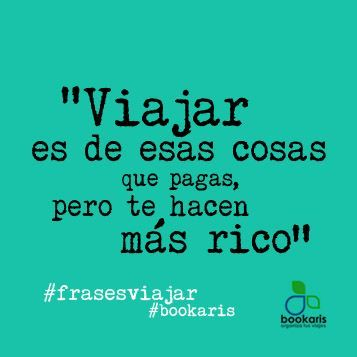 www.bookaris.com/blog #viajes #frases: