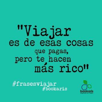 www.bookaris.com/blog #viajes #frases: