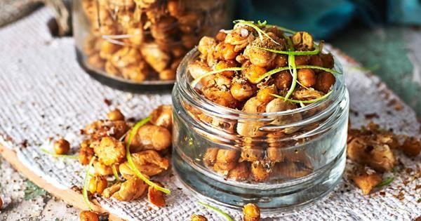 Sweet & sour roasted chickpeas recipe   Australian Women's Weekly Food   – Fab food