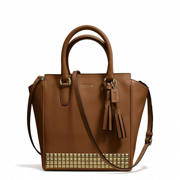 The Legacy Mini Tanner Crossbody in Studded Leather from Coach
