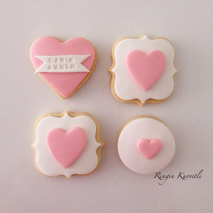 Anneler Günü Kurabiyeleri / Mother's Day Cookies