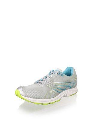 ASICS Women's GEL-Sayuri Running Shoe (Silver/Platinum/Lime)